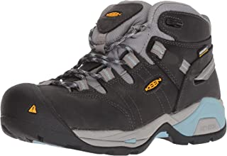 Keen Utility 女式 Detroit XT 中帮柔软防水工业靴