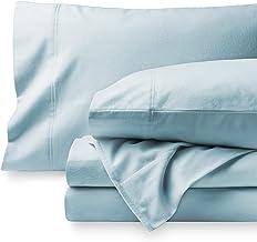 Bare Home 法蘭絨床單套裝 淺藍色 兩個 XL 812228035272