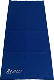Cordova 冷按扣多用途冷却面罩,蓝色
