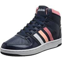 adidas 女式 VS hoopster MID W 篮球鞋