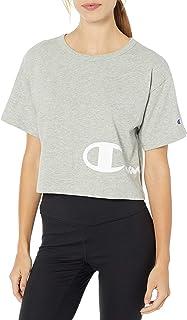Champion LIFE 女式 Heritage 环绕LOGO样式T恤