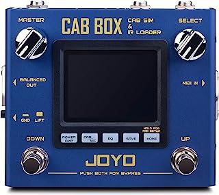 JOYO R-08 Cab Box 吉他橱柜扬声器模拟器和红外装载机