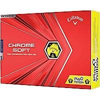 2020 Callaway Chrome Soft Golf Balls (Play Yellow Truvis)