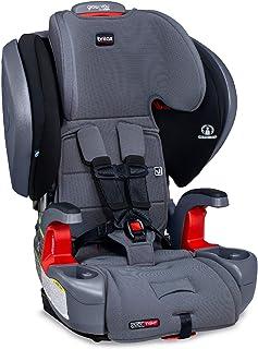 Britax 与你一起成长 ClickTight Plus Hiness-2-助推器汽车座椅   3 层冲击保护-25 至 120 磅,Otto SafeWash 面料 [平博的新版本]
