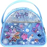 Disney Markwins 冰雪奇缘 化妆包 含儿童化妆品 戒指和发夹 采用 Anna & Elsa 主题设计
