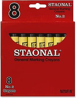 Crayola Bulk 超大标记蜡笔,黑色,8 支装