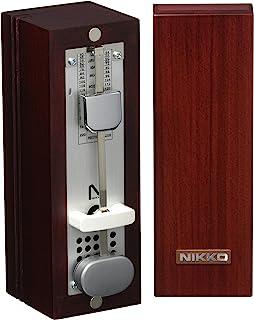 NIKKO 节拍器 木制 小型 深红色 332