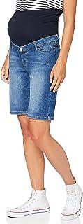 ESPRIT Maternity 女士百慕大牛仔 OTB 孕妇短裤