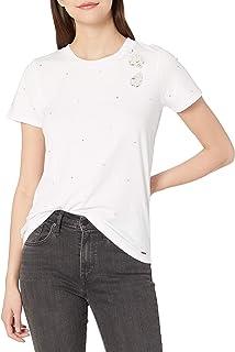 n:PHILANTHROPY 女式短袖 T 恤,玫瑰色