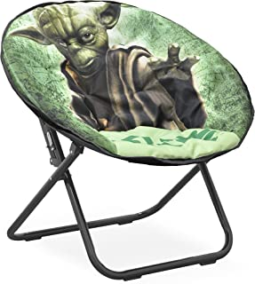 Disney Star Wars Yoda Tween Saucer 椅,绿色