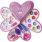 Liberty Imports 小女童心形化妆品玩具套装-儿童时尚化妆包