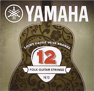 Yamaha 雅马哈 FB 12 西部吉他琴弦 80/20 青铜超光(1 件装)
