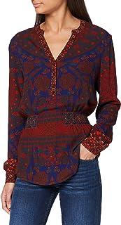 Desigual 女式 Blus_Patty 衬衫
