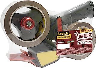 Scotch 包装胶带 封箱胶 手动卷带切割器内 Handabroller + 2 Rollen 50mmx66m
