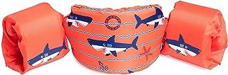 SWIM SAFE Bestway ABC Swim Pal 幼儿救生背心和护目镜套装,橙色