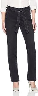 NYDJ 女士小号玛丽莲直筒裤带长裤 Glenbrook 18P