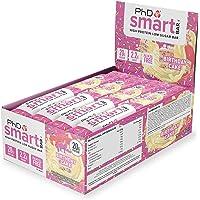 PhD Smart Bar-High Protein Low Sugar Bar, Birthday Cake, 64…