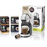 Nescafé Dolce Gusto KRUPS KP123B43 Mini-Me 咖啡机,配星巴克咖啡,Dolce…