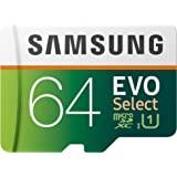 三星 EVO Select UHD 内存卡带适配器 64 GB