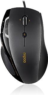Rapoo N 6200光电鼠标( dpi ,5纽扣 configurable USB /