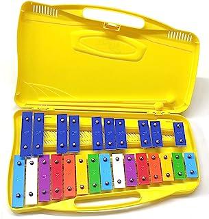 Alysée - MT25-C-YL 彩色金属琴 25 音符 - 黄色