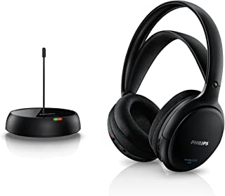 Philips 飞利浦 SHC5200/10 无线高保真耳机 黑色