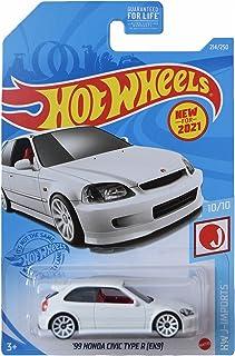 Hot Wheels '99 Honda Civic R 型 [EK9],[白色] J-Imports 10/10
