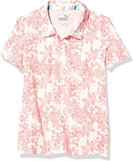 PUMA Golf 2020 女童印花 Polo 衫