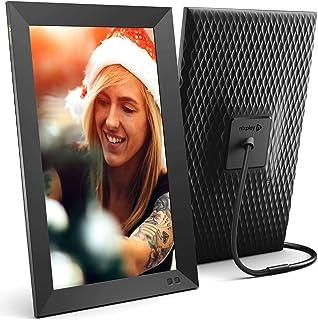 Nixplay 智能数码相框 15.6 英寸(约 39.0 厘米),通过应用程序或电子邮件即时共享时刻