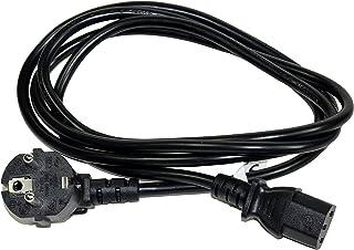 电源线 角度对冷设备插头 C13 / IEC60320-1 适用于Pc 和显示器 1.8 米