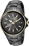 Seiko ' COUTURA ' 石英不锈钢手表,颜色:黑色(型号:SNE506)