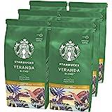 Starbucks 星巴克 Veranda Blend Blonde烘焙研磨咖啡200克袋装(6袋)