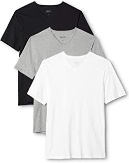 HUGO BOSS 男士V领T恤(3件装)
