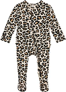 Posh Peanut 婴儿连体衣丝滑柔软透气 - 优质针织婴儿服装 - 竹纤维胶
