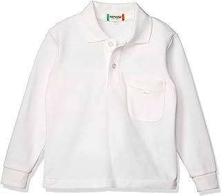 [TOMBOW学生服] 小学 鹿之子Polo衫长袖 T-12-25 儿童