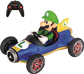 Carrera RC 官方*马里奥赛车马赫 8 Luigi 1:18 比例2.4 Ghz 遥控遥控汽车,带可充电的 Lifepo4 电池 - 儿童玩具男孩/女孩(型号:181067)