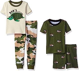 The Children's Place 婴儿男孩 4 件套睡衣套装