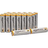AmazonBasics 亚马逊倍思 AA型(5号) 碱性电池 20节装 (亚马逊进口直采,美国品牌)