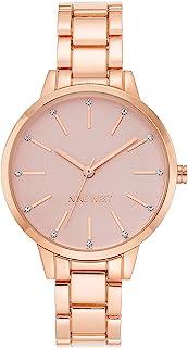 Nine West 正装手表(型号:NW/2098PKRG)