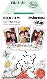 FujiFilm 一次成像相机 チェキ 手机膜 キャラクター (くまのプーさん) 1パック入(10枚)