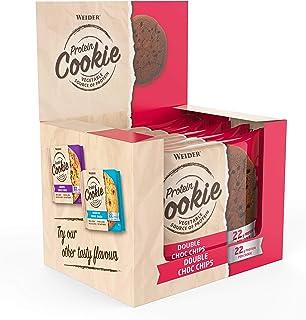 Weider Protein Cookie, Double Choc Chips, 1080 g