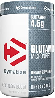 Dymatize 纯谷氨酰胺,无调味,10.6 盎司(约 0.3 千克)