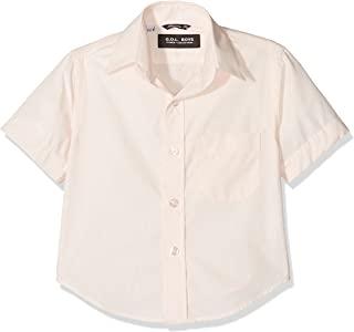 Gol 男孩短袖肯特领衬衫