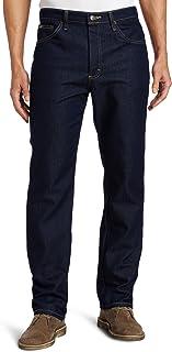 Lee 男士标准常规版型直筒牛仔裤 Indigo Stretch 30W x 32L