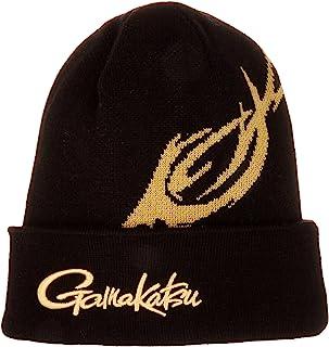 伽玛卡兹(Gamakatsu) 帽子 GM9822 黑色/金色 F.