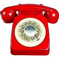 Wild and Wolf 746 电话, 复古设计, 红色