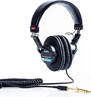 SONY 索尼 MDR-7506 封闭式头戴 监听耳机 黑色