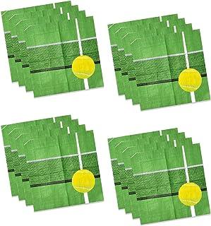 Havercamp 网球饮料餐巾(16 件装)网球派对系列