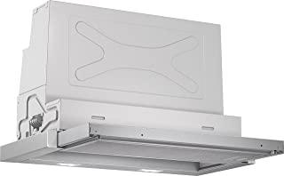 Bosch 博世 DFR067A50 4系列 吸顶式抽油烟机/B/60cm/可选空气循环或排气模式/翘板开关/静音/高强度/金属油脂过滤器(适用于洗碗机),金属银色