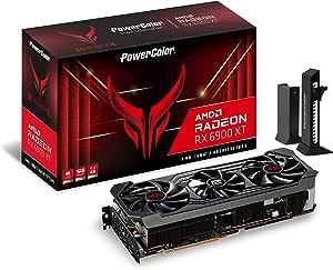 PowerColor Red Devil AMD Radeon™RX 6900 XT 游戏显卡,具有16GB GDDR6内存,由AMD RDNA™2,光线追踪,PCI Express 4.0,HDMI 2.1,AMD Infinity缓存提供支持